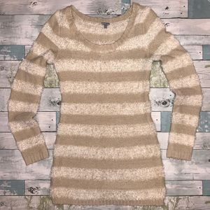 Charlotte Russe Striped Sweater Size S